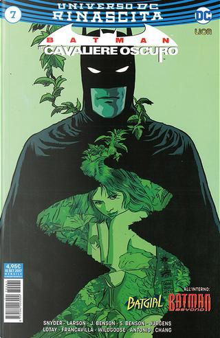 Batman: Il cavaliere oscuro #7 by Dan Jurgens, Hope Larson, Julie Benson, Scott Snyder, Shawna Benson