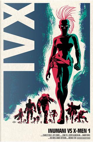 Inumani vs. X-Men #1 - Variant by Charles Soule, Jeff Lemire