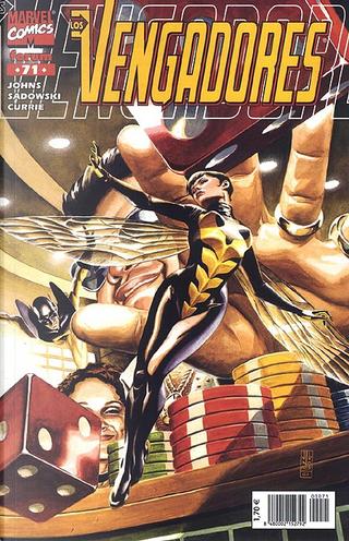 Los Vengadores vol.3 #71 by Geoff Jones