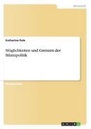 Möglichkeiten und Grenzen der Bilanzpolitik by Katharina Putz