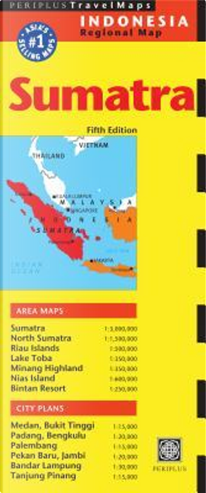 Periplus Travel Maps Sumatra & Medan by Periplus Editors