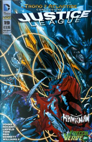 Justice League n. 19 by Ann Nocenti, Frank Tieri, Geoff Jones, Rob Liefeld