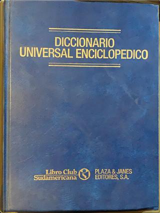Diccionario universal enciclopédico