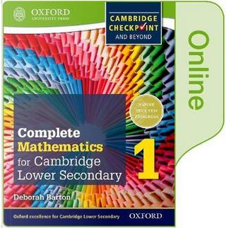 Complete Mathematics for Cambridge Lower Secondary Book 1 by Deborah Barton