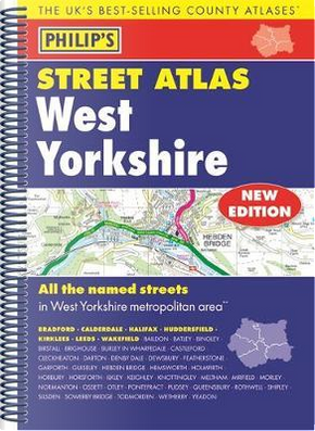 Philip's Street Atlas West Yorkshire by PHILIPS