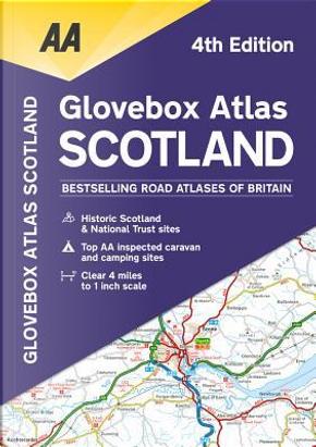 AA Glovebox Atlas Scotland by Automobile Association (Great Britain)