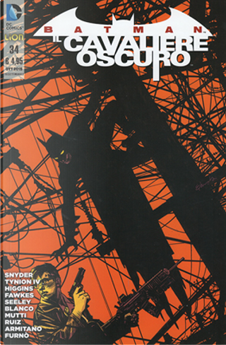 Batman Il Cavaliere Oscuro, n. 34 by James Tynion IV, Ray Fawkes, Scott Snyder, Tim Seeley, Kyle Higgins