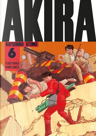 Akira vol. 6 by Katsuhiro Otomo