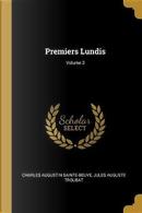 Premiers Lundis; Volume 3 by Charles Augustin Sainte-Beuve