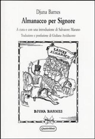 Almanacco per signore by Djuna Barnes