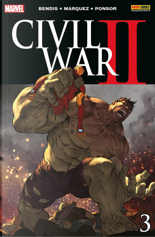 Civil War II #3 by Brian Michael Bendis, Chelsea Cain, Ming Doyle