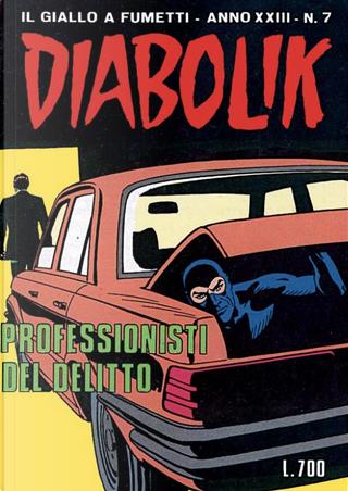 Diabolik anno XXIII n. 7 by Angela Giussani, Luciana Giussani