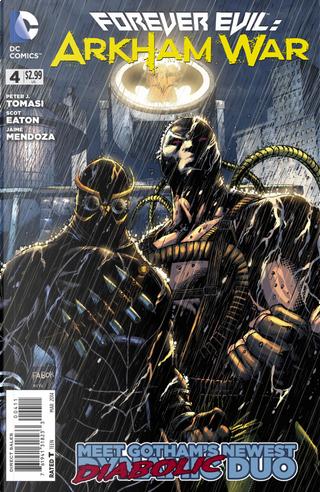 Forever Evil: Arkham War Vol.1 #4 by Peter J. Tomasi, Scot Eaton