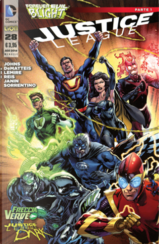 Justice League n. 28 by Geoff Jones, J. M. DeMatteis, Jeff Lemire