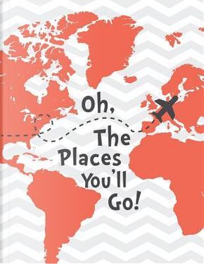 Oh the Places You'll Go Mix 90p Dotted Grid 20p, Lined, Ruled by Moon Journal