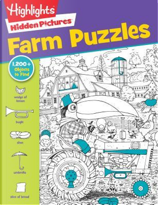 Highlights Hidden Pictures Favorite Farm Puzzles by Inc. Highlights for Children