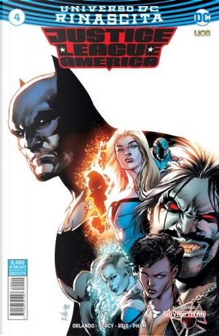 Justice League America #4 by Benjamin Percy, Steve Orlando