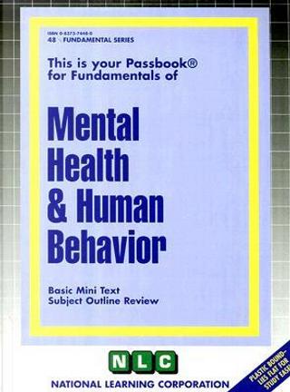 Mental Health & Human Behavior by Jack Rudman
