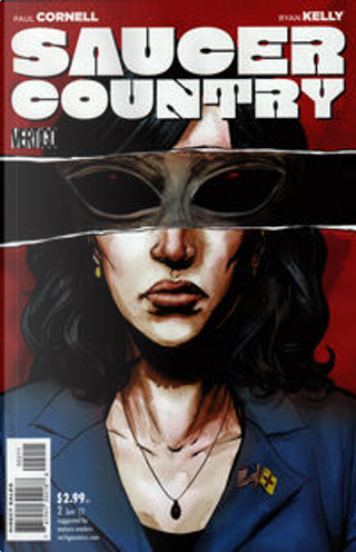 Saucer Country Vol.1 #2 by Paul Cornell