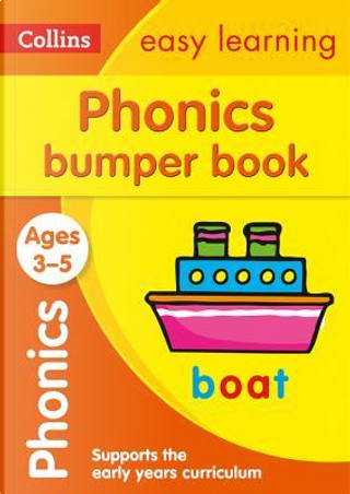 Phonics Bumper Book Ages 3-5 (Collins Easy Learning Preschool) by Collins Easy Learning
