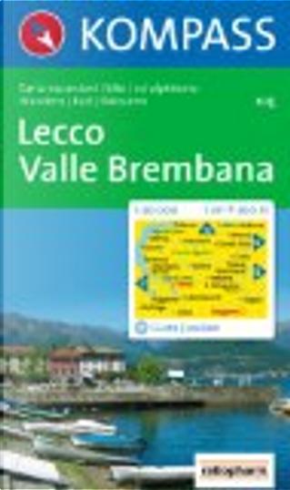 Lecco - Valle Brembana by Kompass-Karten GmbH
