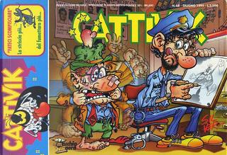 Cattivik n. 69 by Alfredo Castelli, Cesare Buffagni, G. Cavalli, Giorgio Sommacal, M. Marchetti, Massimo Bonfatti, Mirko Maselli, Piero Lusso, Silver