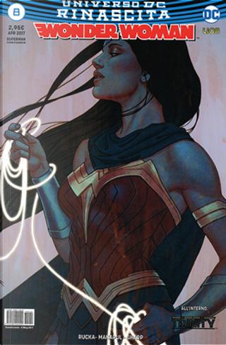 Wonder Woman #8 by Francis Manapul, Greg Rucka