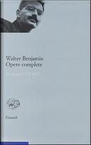 Opere complete - Vol. 2 by Walter Benjamin