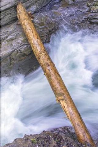 White Water Rapids on a River Running Through the Gorge Journal by CS Creations