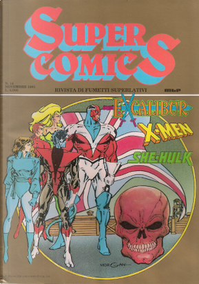 Super Comics n. 14 by Danny Fingeroth, John Byrne, Michael Higgins