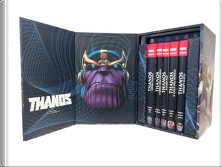 Thanos - Cofanetto by Evan Skolnick, Jim Starlin, John Arcudi, Richard Ashford