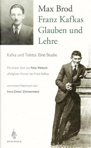 Franz Kafkas Glauben und Lehre by Max Brod