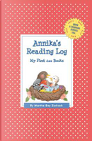 Annika's Reading Log by Martha Day Zschock