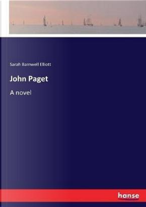 John Paget by Sarah Barnwell Elliott Elliott