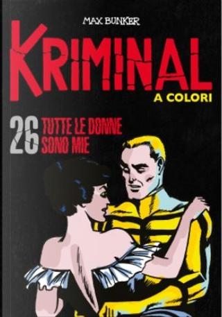 Kriminal a colori - Vol. 26 by Max Bunker