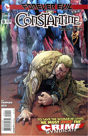 Constantine Vol.1 #9 by Ray Fawkes