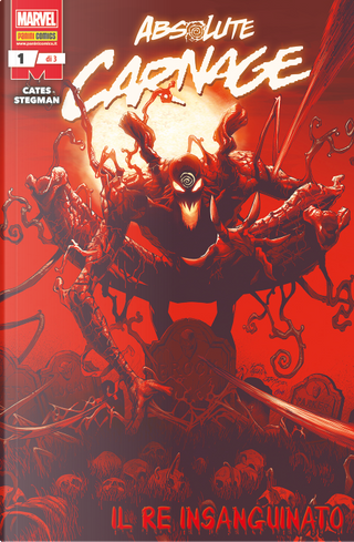Absolute Carnage 1: Il re insanguinato by Donny Cates