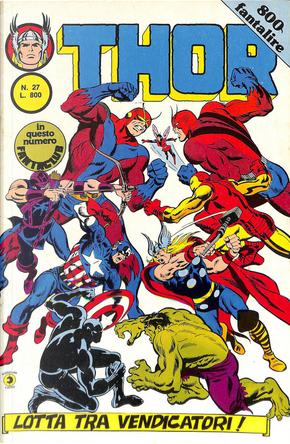 Thor - II serie n. 27 by Roy Thomas, Stan Lee