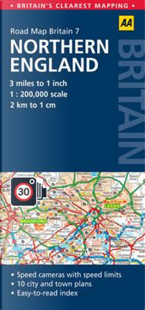 Aa Road Map Britain by Automobile Association (Great Britain)