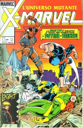 X-Marvel n. 5 by Michael Higgins, Ann Nocenti, Bob Layton