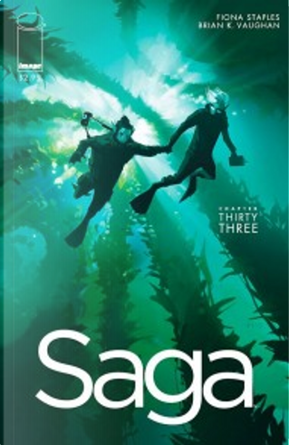 Saga #33 by Brian K. Vaughan