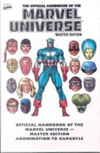 Essential Official Handbook Of The Marvel Universe - Master Edition Volume 1 TPB by Glenn Herdling, Len Kaminsky, Murray Ward, Peter Sanderson