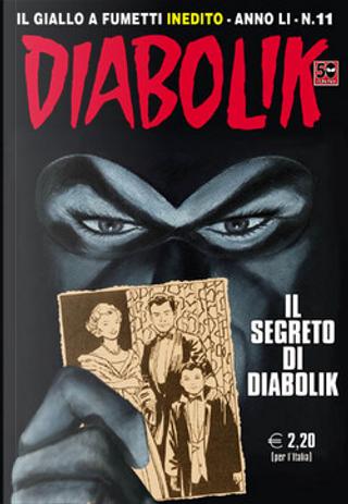Diabolik anno LI n. 11 by Mario Gomboli, Tito Faraci