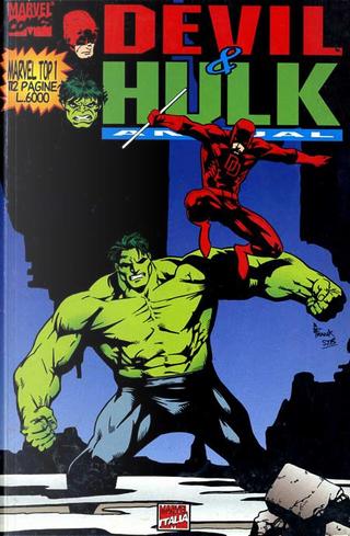 Devil & Hulk Annual by Evan Skolnick, Greg Wright, Peter David, Ron Fortier