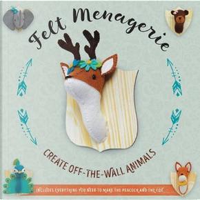 Felt Menagerie by Abby Glassenberg