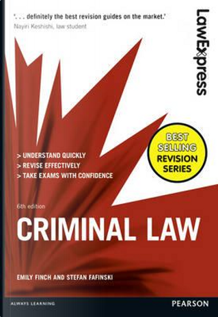 Criminal Law by Emily Finch