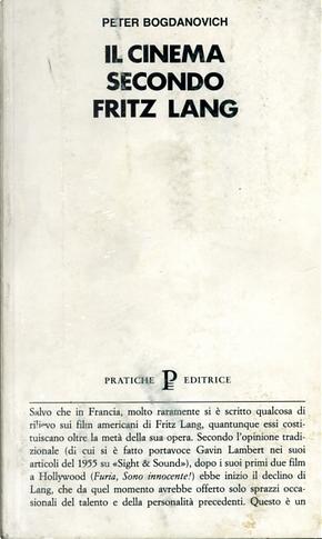 Il cinema secondo Fritz Lang by Peter Bogdanovich