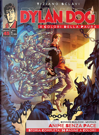 Dylan Dog - I colori della paura n. 45 by Giovanni Gualdoni