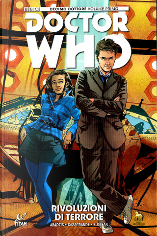 Doctor Who: Decimo dottore vol. 1 Variant by Nick Abadzis
