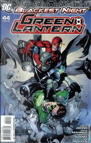 Green Lantern Vol.4 #44 by Geoff Jones